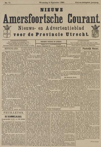Nieuwe Amersfoortsche Courant 1905-09-06