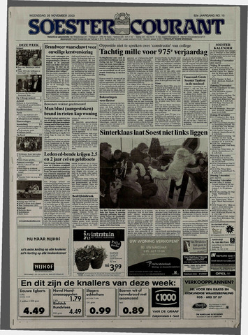 Soester Courant 2003-11-26