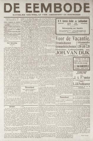 De Eembode 1921-07-15