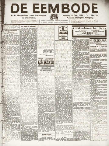 De Eembode 1924-12-19