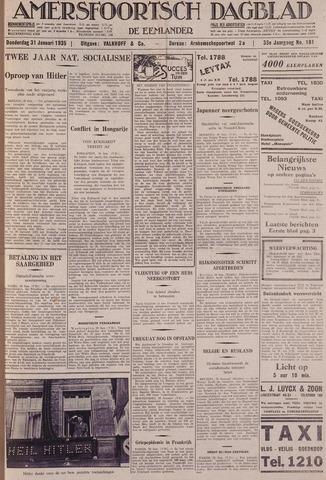 Amersfoortsch Dagblad / De Eemlander 1935-01-31