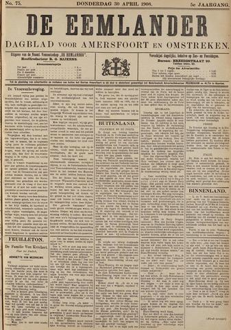 De Eemlander 1908-04-30