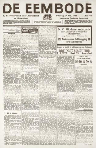 De Eembode 1926-01-19