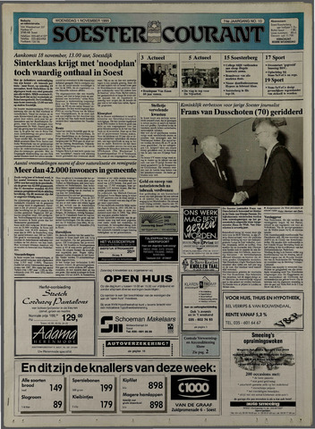 Soester Courant 1995-11-01