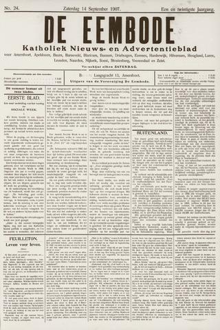 De Eembode 1907-09-14