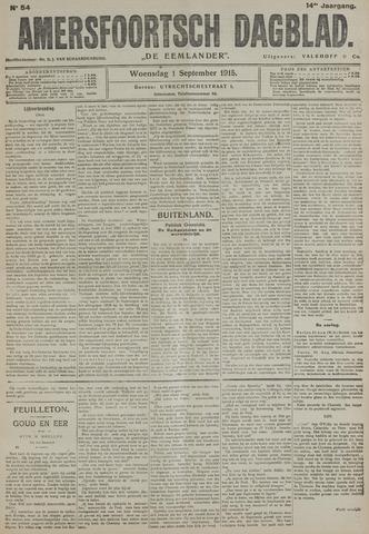 Amersfoortsch Dagblad / De Eemlander 1915-09-01