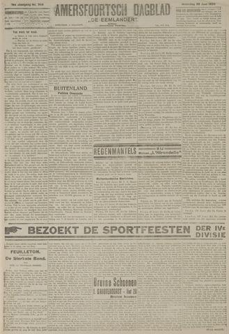 Amersfoortsch Dagblad / De Eemlander 1920-06-28