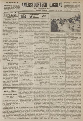 Amersfoortsch Dagblad / De Eemlander 1927-02-17