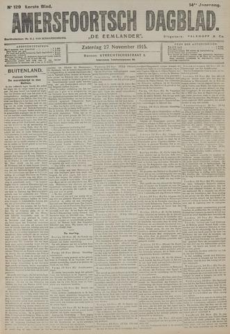 Amersfoortsch Dagblad / De Eemlander 1915-11-27