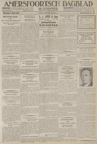 Amersfoortsch Dagblad / De Eemlander 1928-03-07