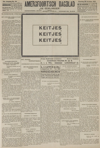 Amersfoortsch Dagblad / De Eemlander 1927-10-25