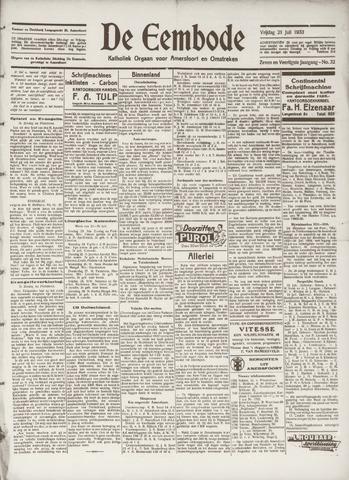 De Eembode 1933-07-21