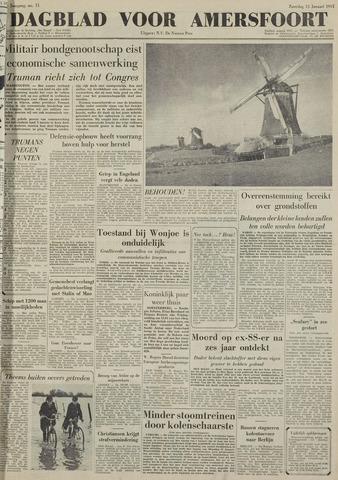 Dagblad voor Amersfoort 1951-01-13