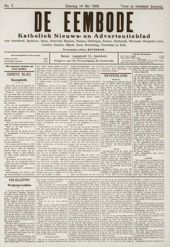 De Eembode 1908-05-16