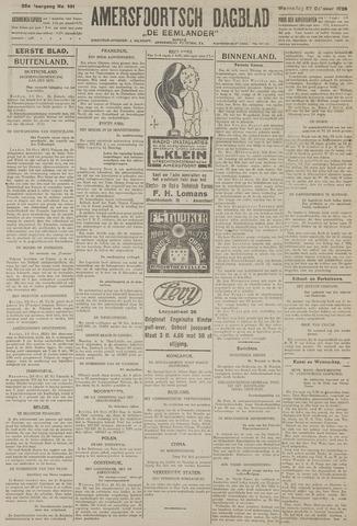 Amersfoortsch Dagblad / De Eemlander 1926-10-27