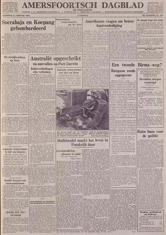 Amersfoortsch Dagblad / De Eemlander 1942-02-21
