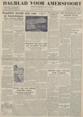Dagblad voor Amersfoort 1947-09-20