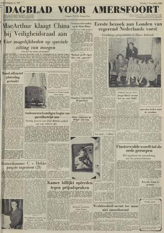 Dagblad voor Amersfoort 1950-11-07