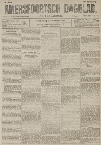 Amersfoortsch Dagblad / De Eemlander 1913-02-27