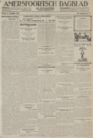 Amersfoortsch Dagblad / De Eemlander 1929-09-17