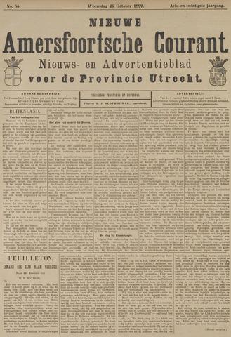 Nieuwe Amersfoortsche Courant 1899-10-25