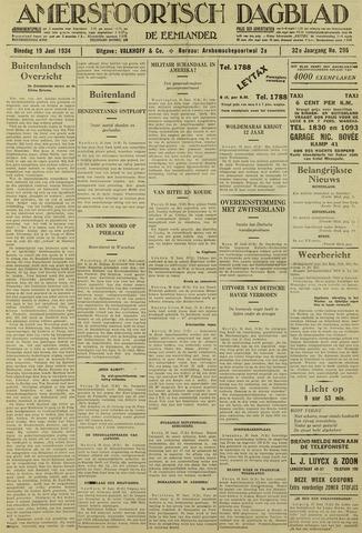 Amersfoortsch Dagblad / De Eemlander 1934-06-19