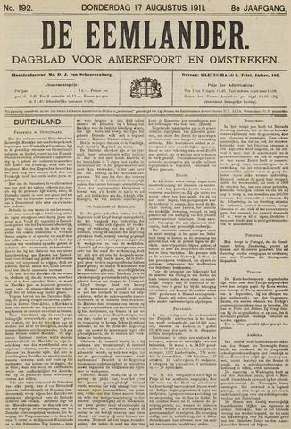 De Eemlander 1911-08-17