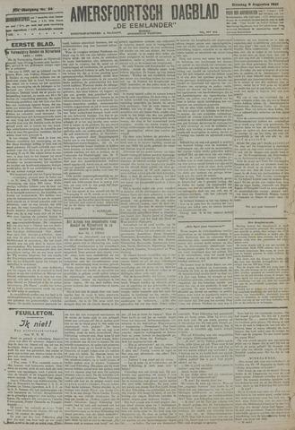Amersfoortsch Dagblad / De Eemlander 1921-08-09