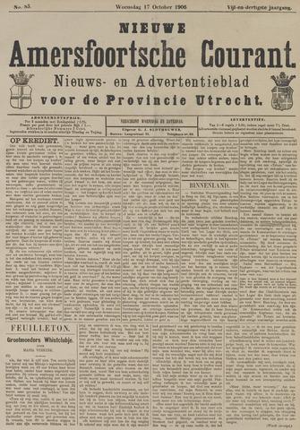Nieuwe Amersfoortsche Courant 1906-10-17