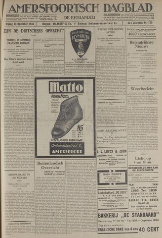 Amersfoortsch Dagblad / De Eemlander 1933-11-24