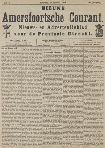 Nieuwe Amersfoortsche Courant 1919-01-25