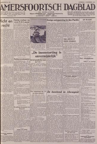 Amersfoortsch Dagblad / De Eemlander 1941-11-01