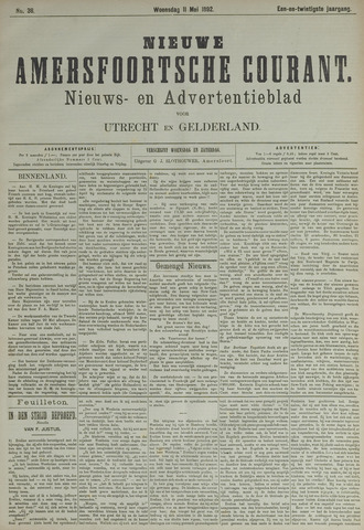 Nieuwe Amersfoortsche Courant 1892-05-11