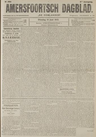 Amersfoortsch Dagblad / De Eemlander 1913-06-10