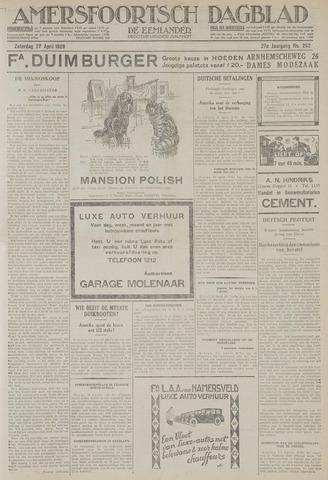Amersfoortsch Dagblad / De Eemlander 1929-04-27