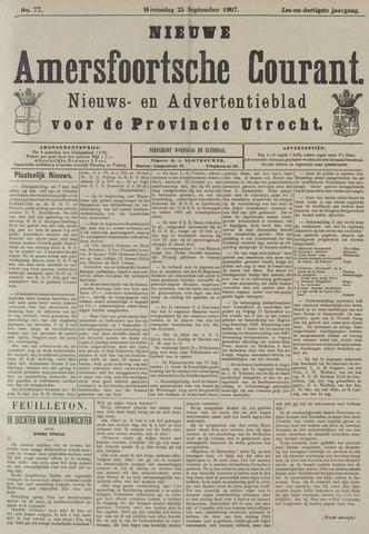 Nieuwe Amersfoortsche Courant 1907-09-25