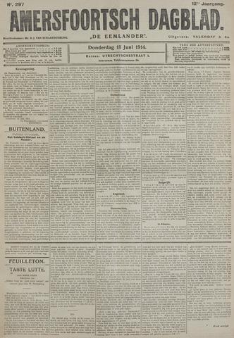 Amersfoortsch Dagblad / De Eemlander 1914-06-18