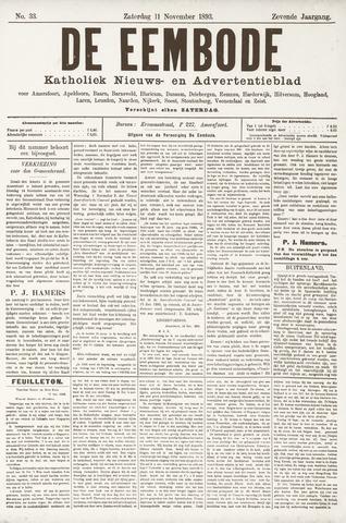 De Eembode 1893-11-11