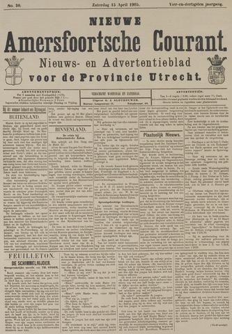 Nieuwe Amersfoortsche Courant 1905-04-15