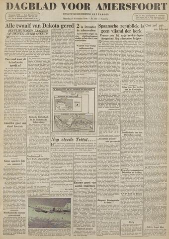 Dagblad voor Amersfoort 1946-11-25