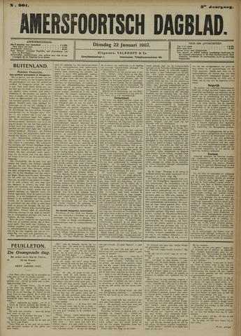 Amersfoortsch Dagblad 1907-01-22