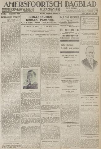Amersfoortsch Dagblad / De Eemlander 1928-09-04
