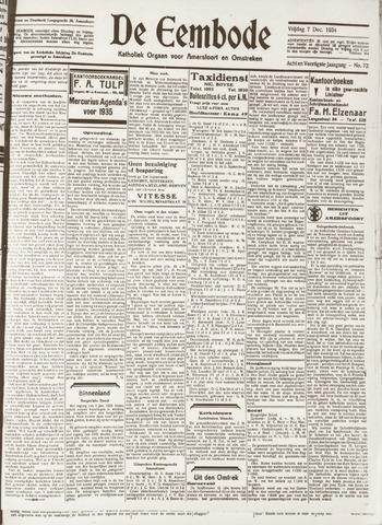 De Eembode 1934-12-07