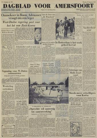 Dagblad voor Amersfoort 1950-08-22