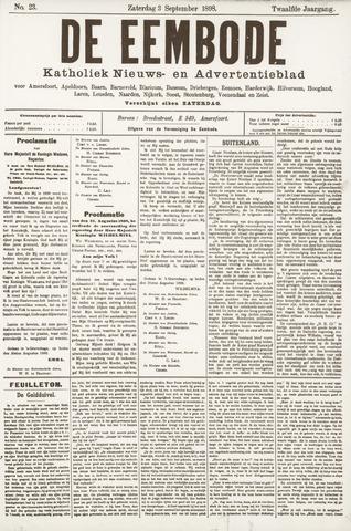 De Eembode 1898-09-03