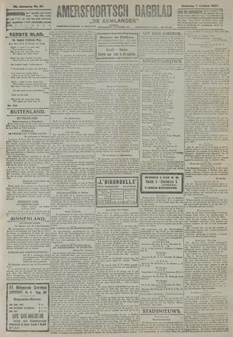 Amersfoortsch Dagblad / De Eemlander 1922-10-07