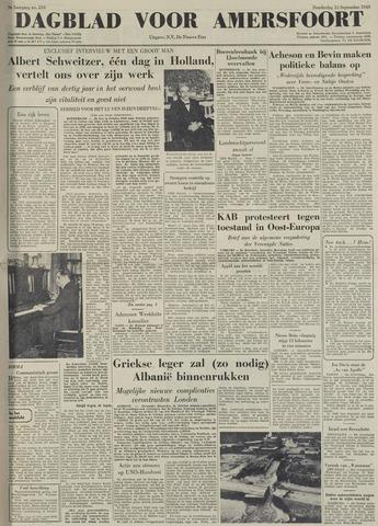 Dagblad voor Amersfoort 1949-09-15