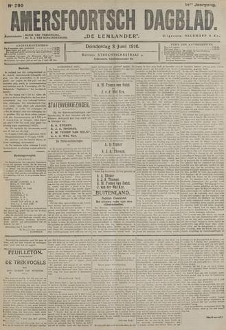Amersfoortsch Dagblad / De Eemlander 1916-06-08