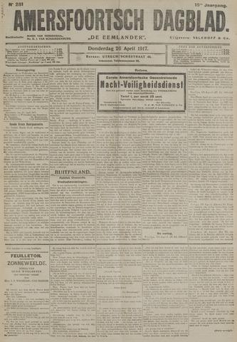 Amersfoortsch Dagblad / De Eemlander 1917-04-26