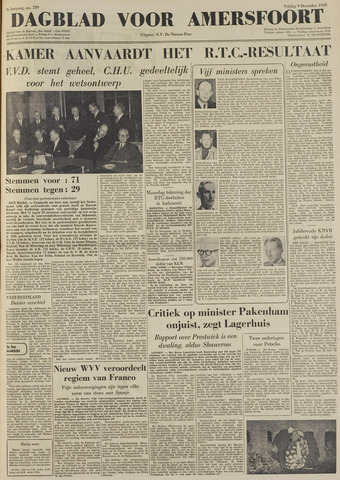 Dagblad voor Amersfoort 1949-12-09